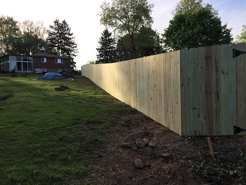 Privacy Fence Installation in Bethel Park, Pa