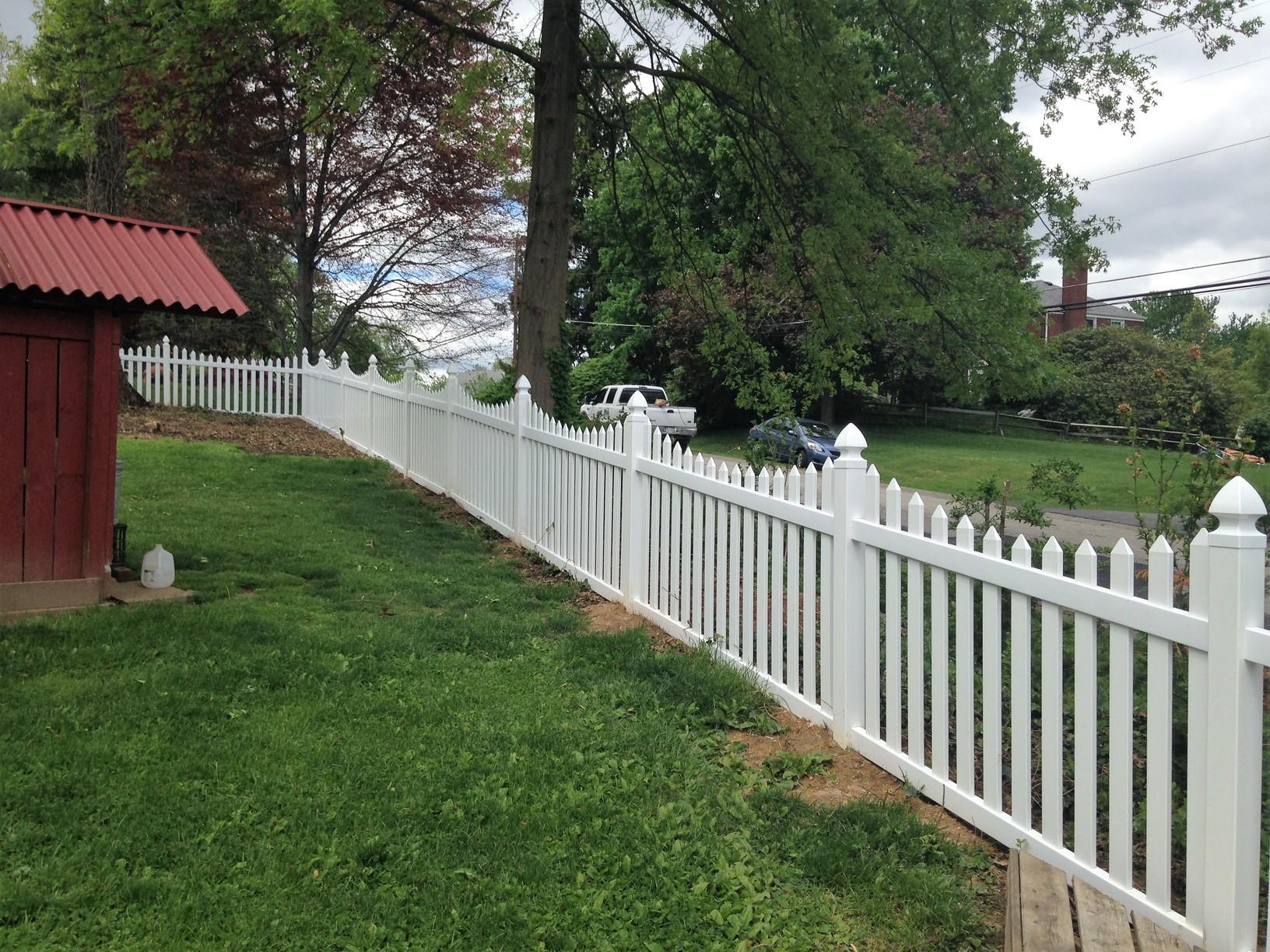 Aluminum Fence Installation in Bethel Park, Pa