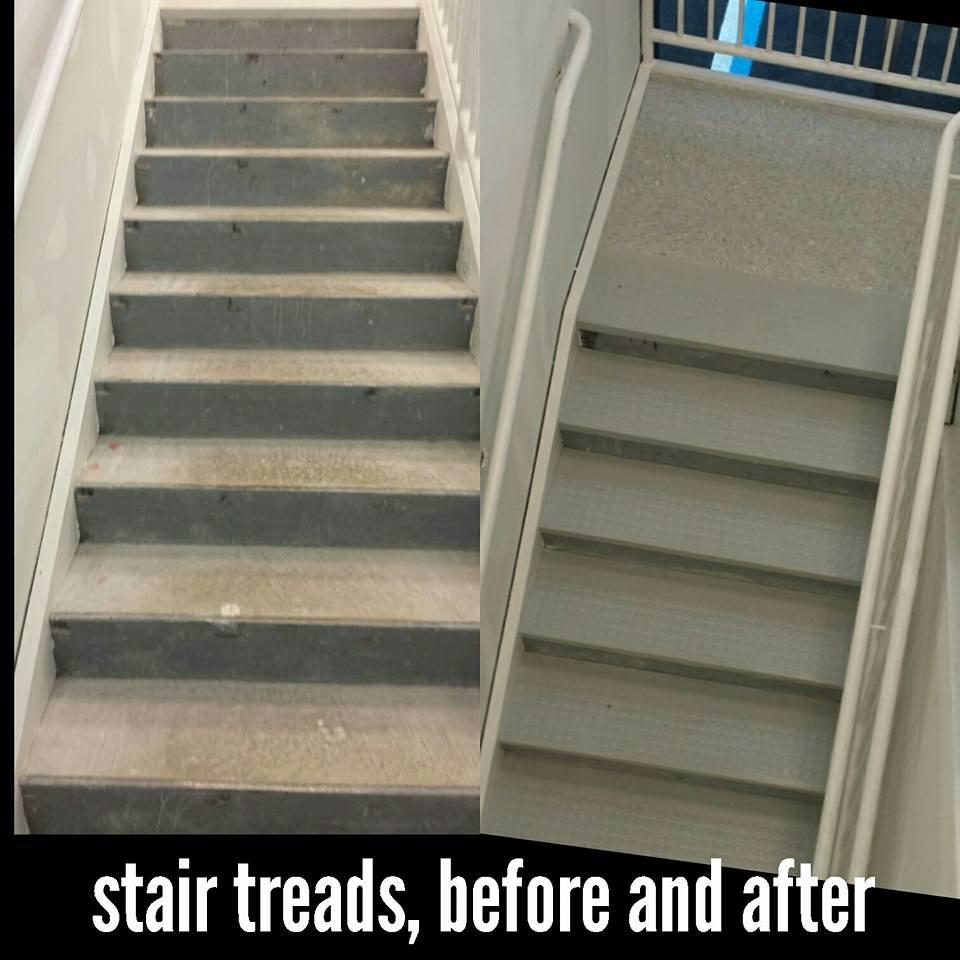 Rubber Stair Treads For Commercial Property in Woodbridge, NJ