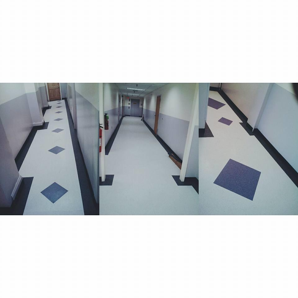Vinyl Composition Tile in Hallway - Helmetta, NJ