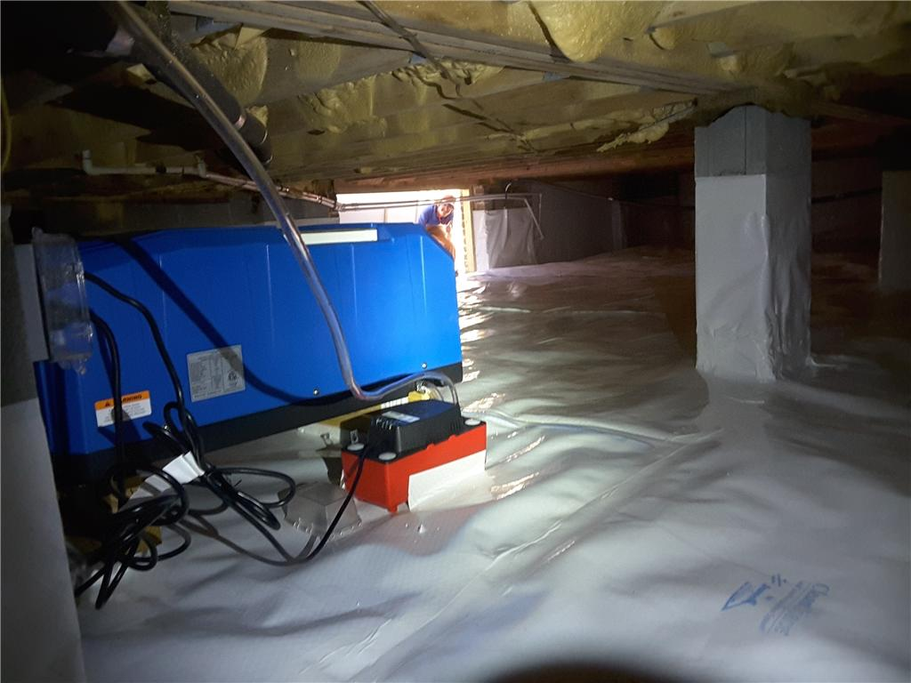 What a CleanSpace, Crawl Space Looks Like