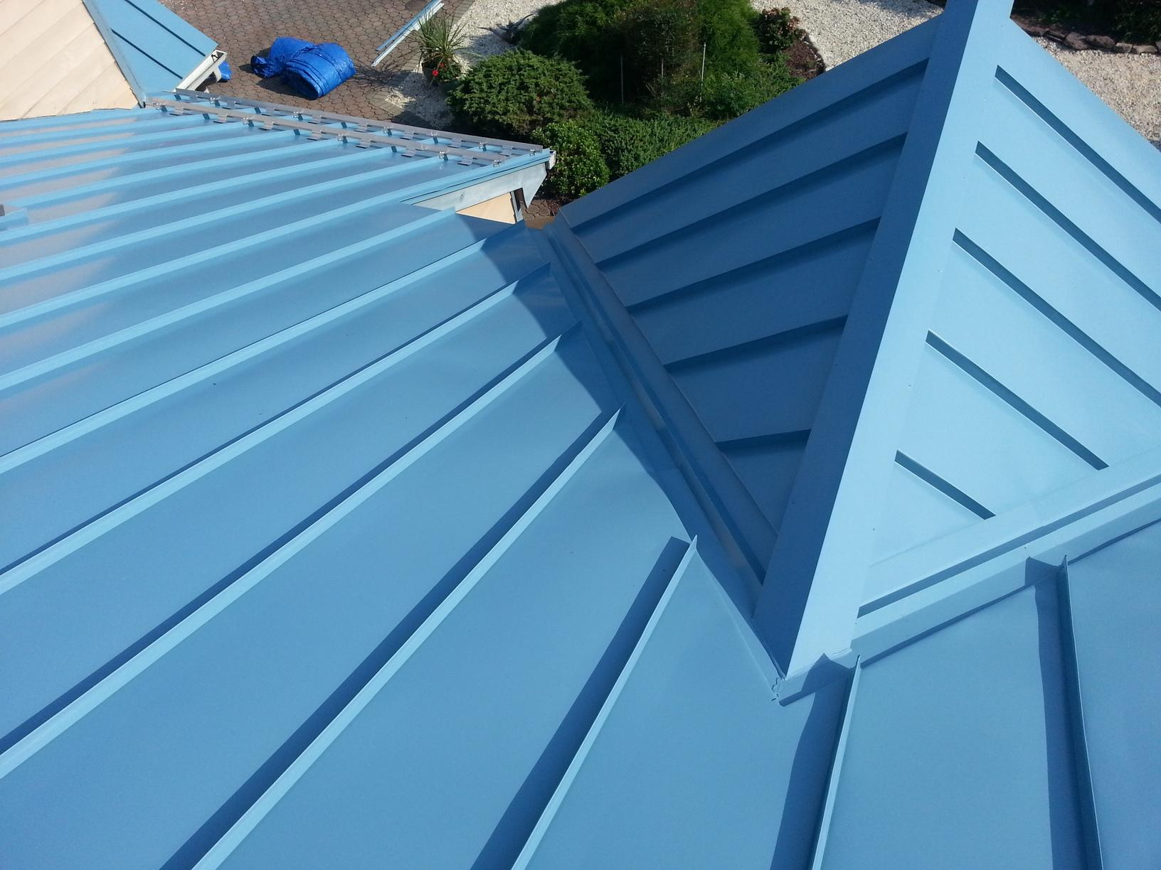 Roof Replacement Metal Roofing Installation In Forked