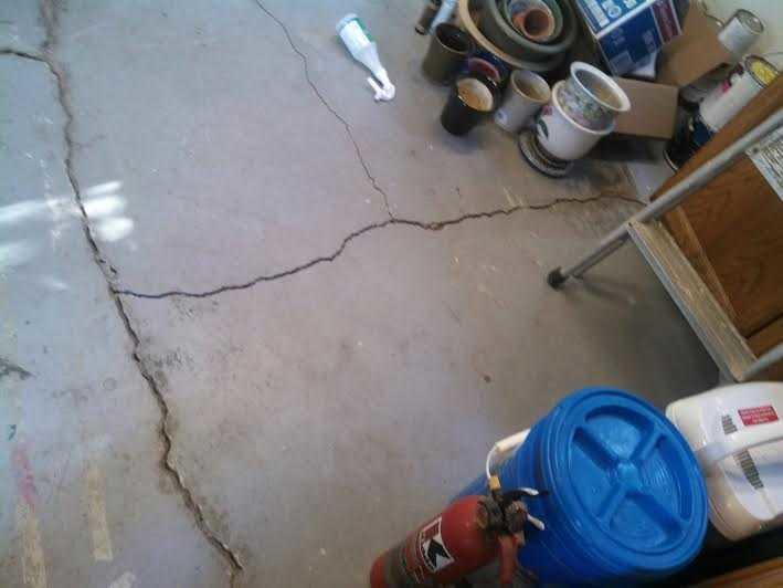Cracking Cement Slab in Fremont, CA