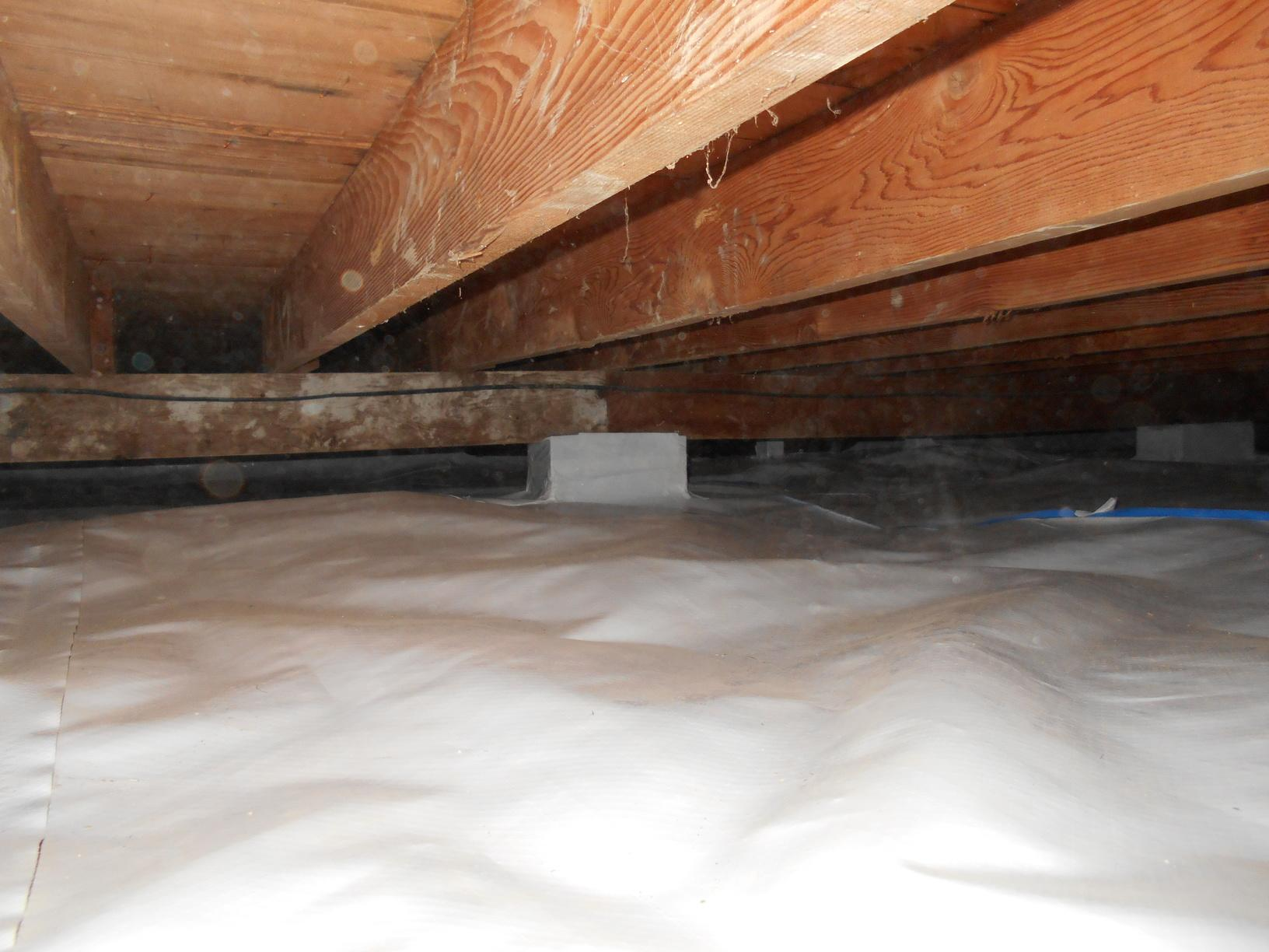 Overview of crawlspace