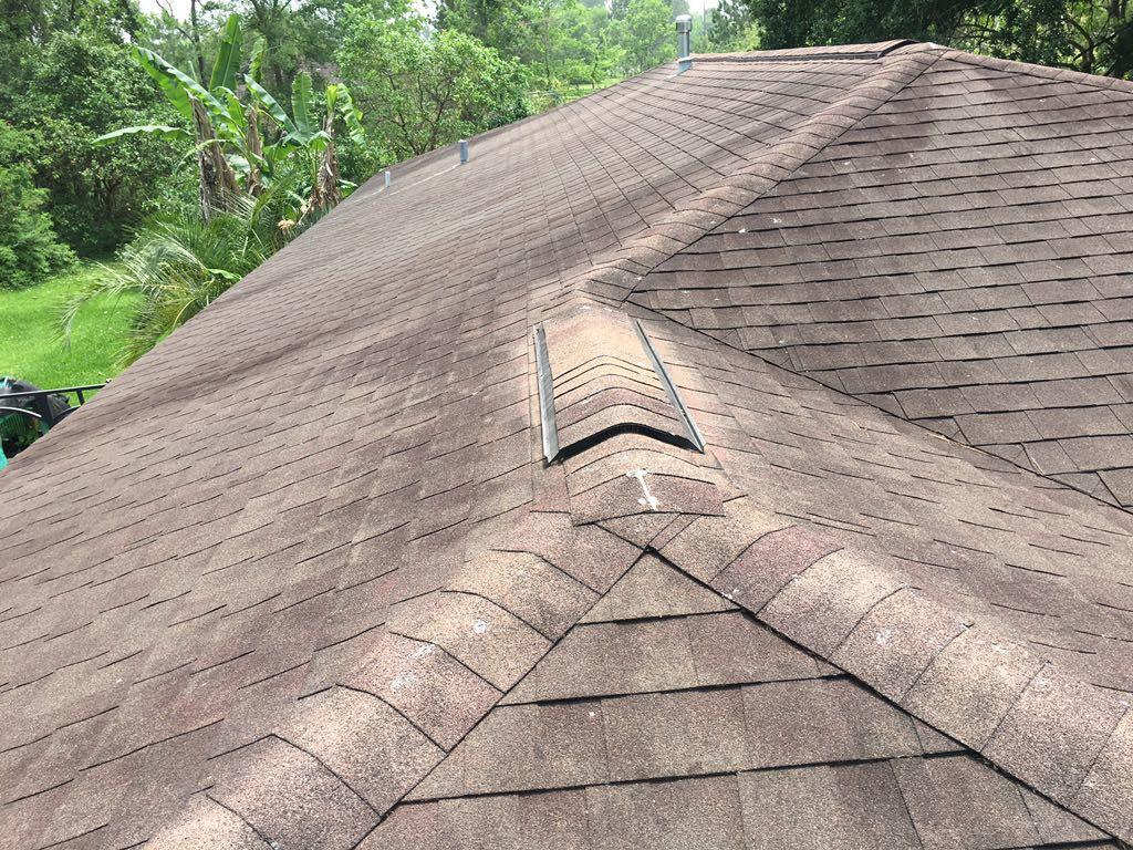 Left Roof Slope Before
