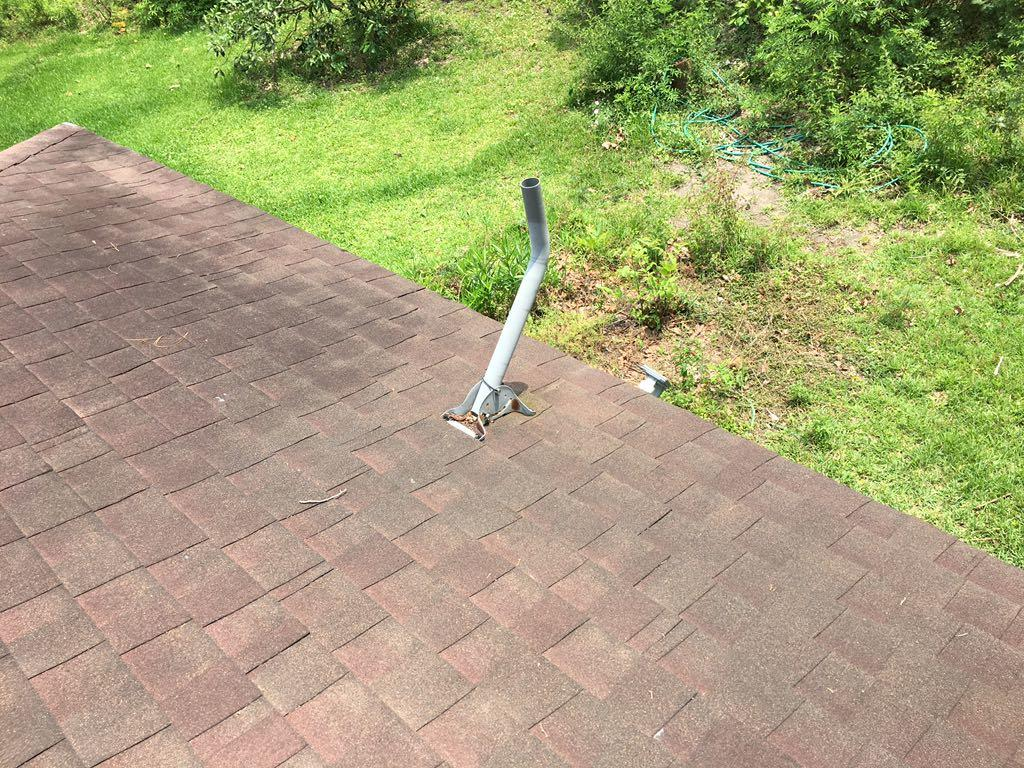 Satellite Woes and Roofing