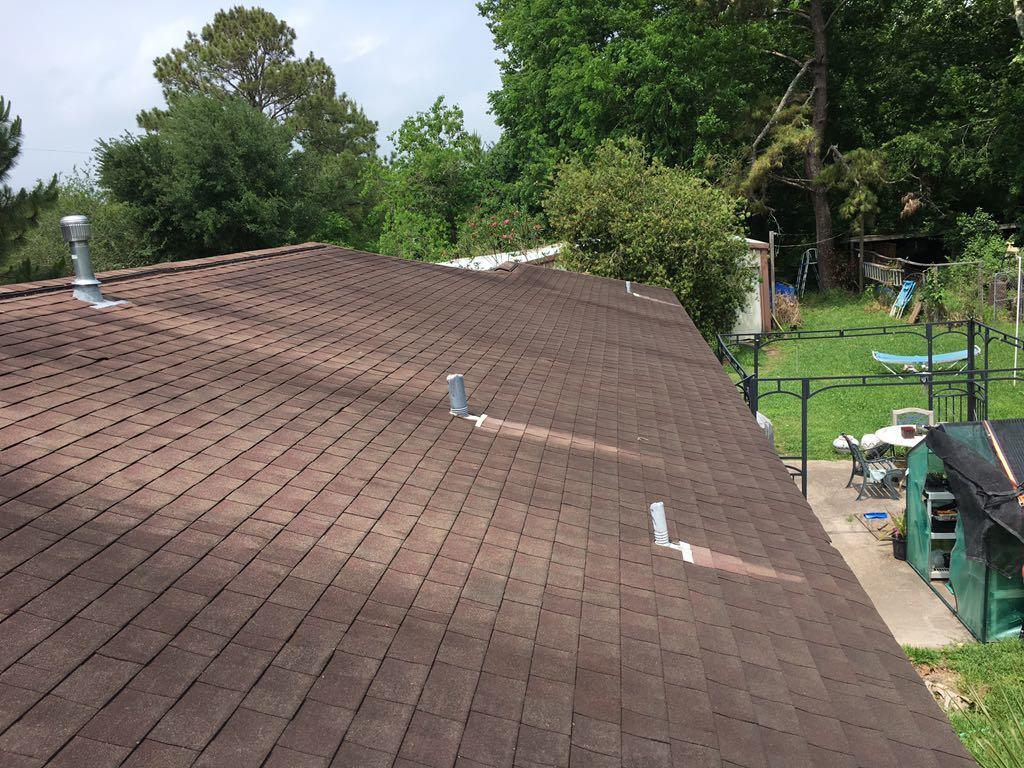 Right Roof Slope Before