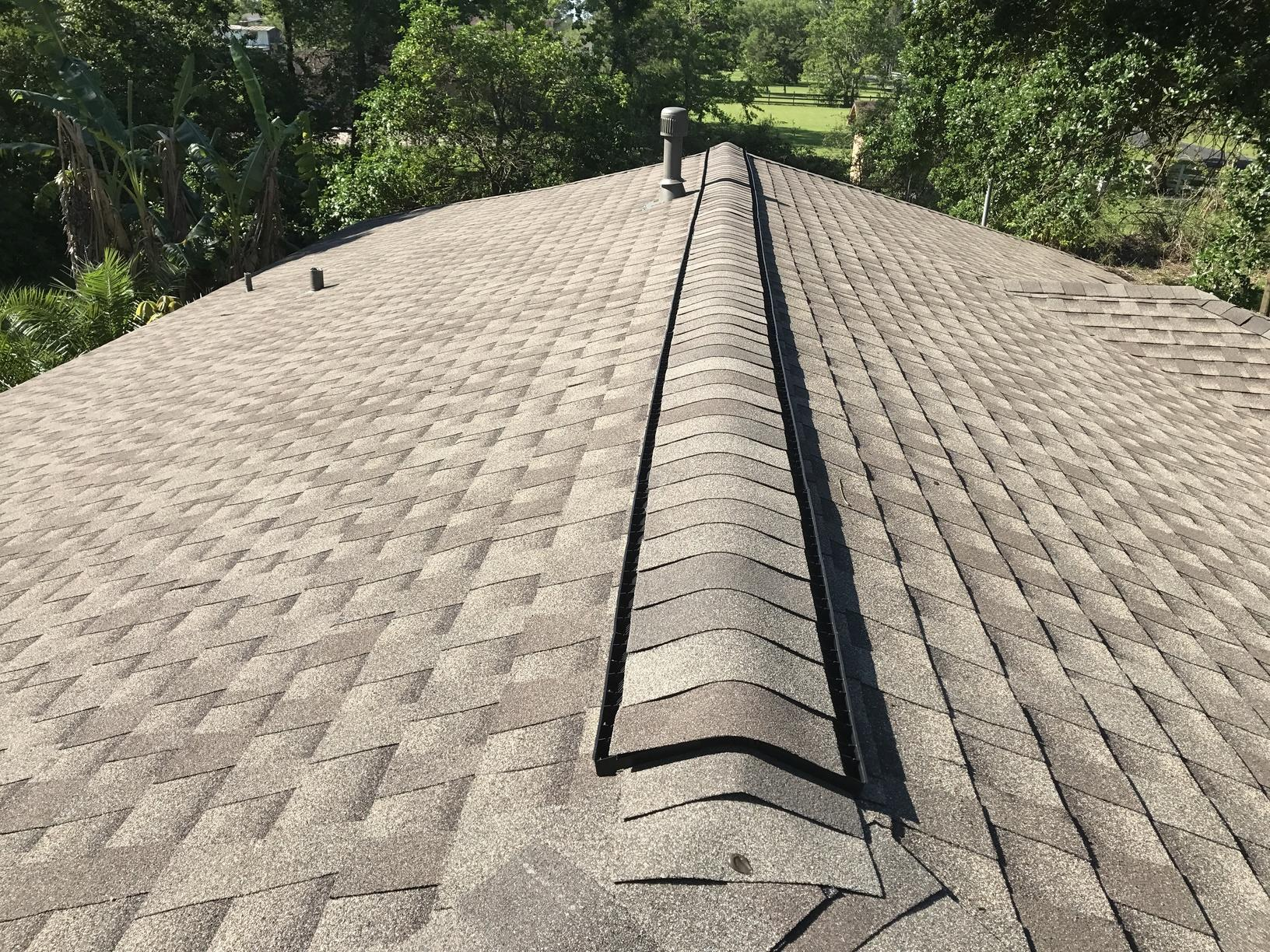 Main Roofing Ridge After