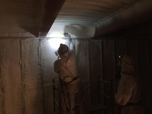 Coastal Insulation Installs Closed Cell Spray Foam in Cherry Hill NJ