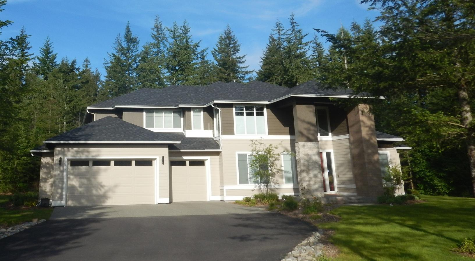 Brand new home needed Leafless Gutters in Ravensdale