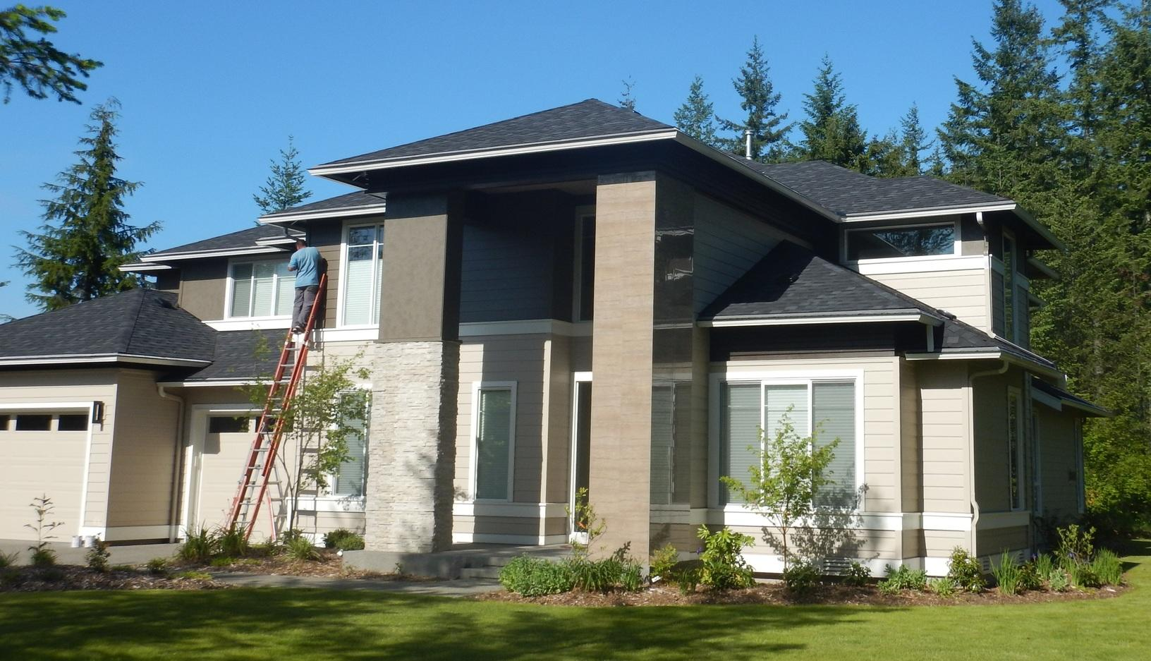 Leafless Gutters for Fir Needles Installed in Ravensdale, WA