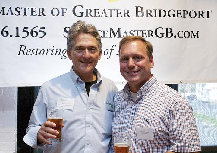 Mayor Harkins and Paul Plouffe