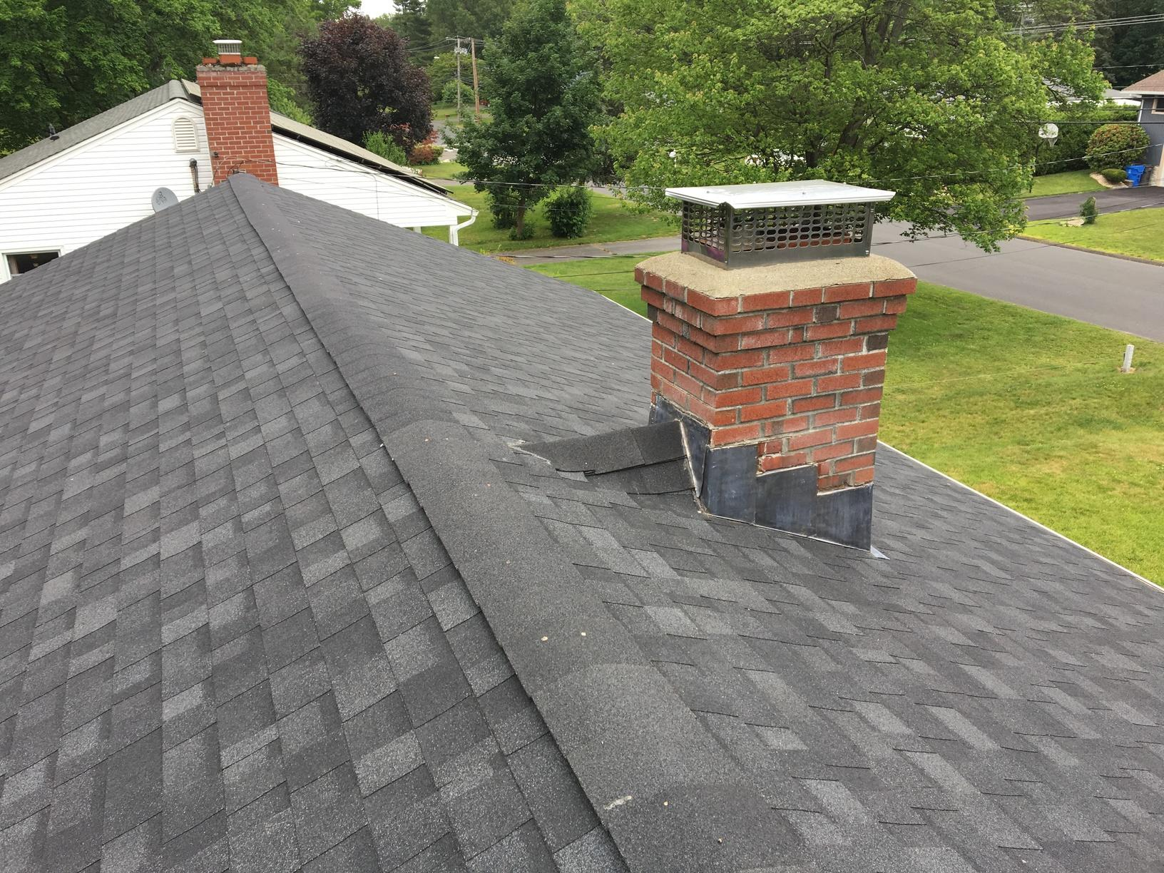 Roof Replacement In Bristol Connecticut Onyx Black