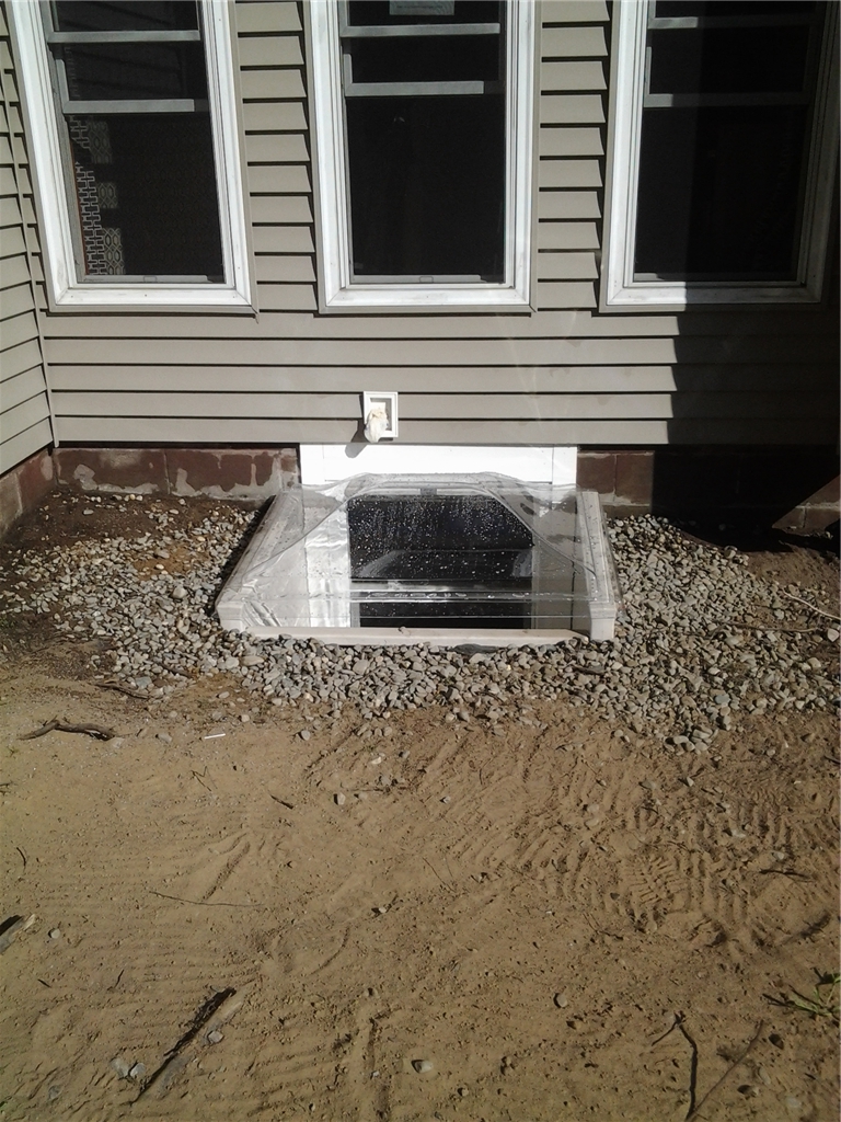 Scapewel Egress After Installation- Outside