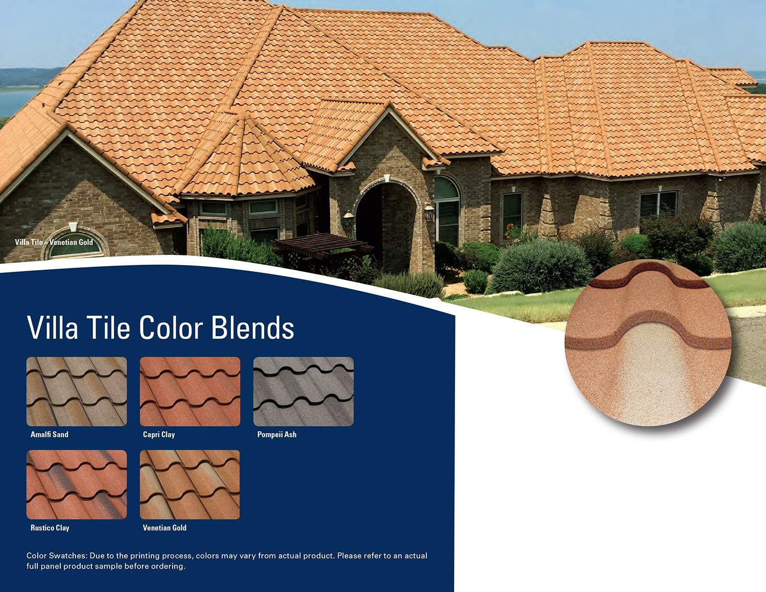 Roof Replacement Decra Metal Roofing For Many Areas In Kansas Villa Tile