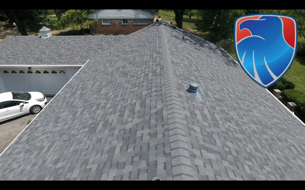 Roof Replacement Hail Damaged Roof In Des Peres Mo