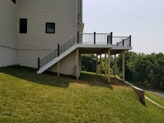 Maintenance Free Deck Installed in Round Hill, VA