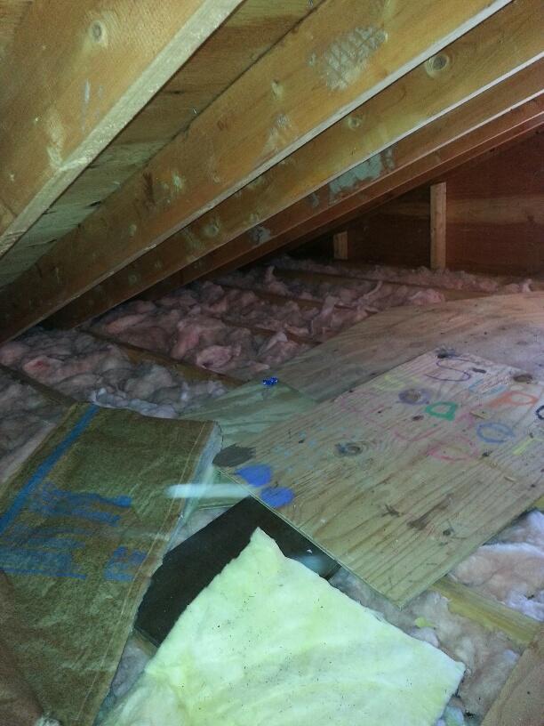 Old storage deck