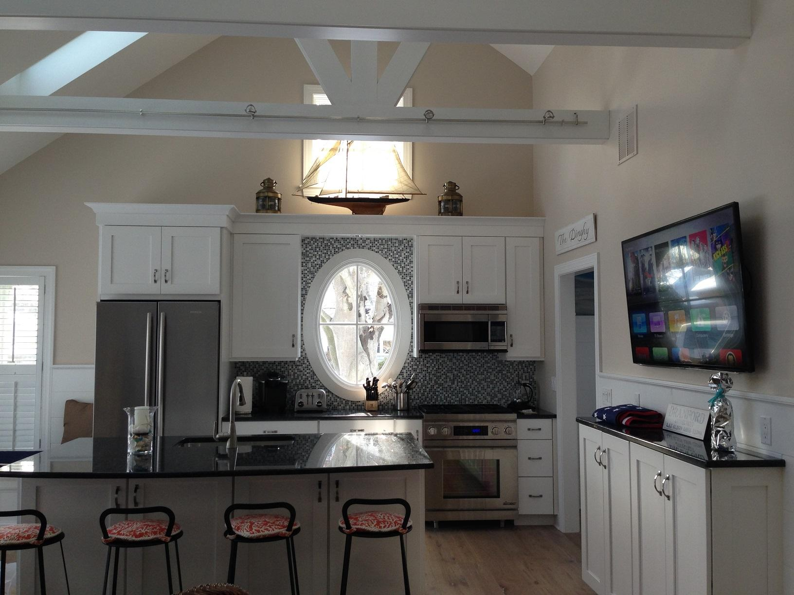 Residential Solutions Boat House In Branford Ct Upstairs Kitchen