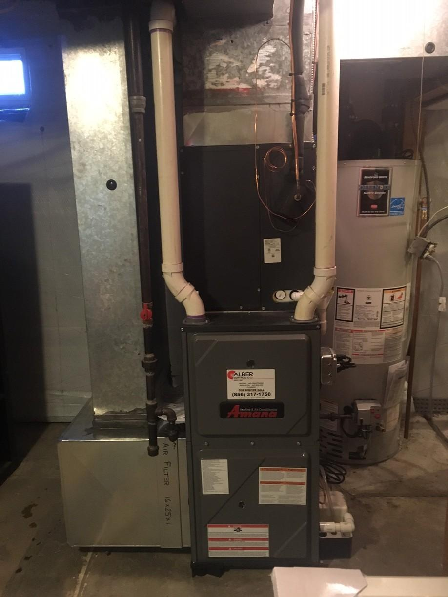 After - Variable Speed Amana Furnace