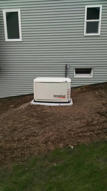 Generator installation in Henrietta, NY