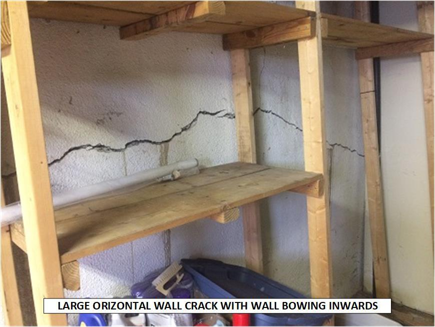 Horizontal Crack