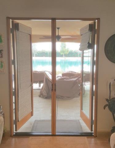 Phantom Legacy Woodgrain Double Door Installed in Arvin, CA