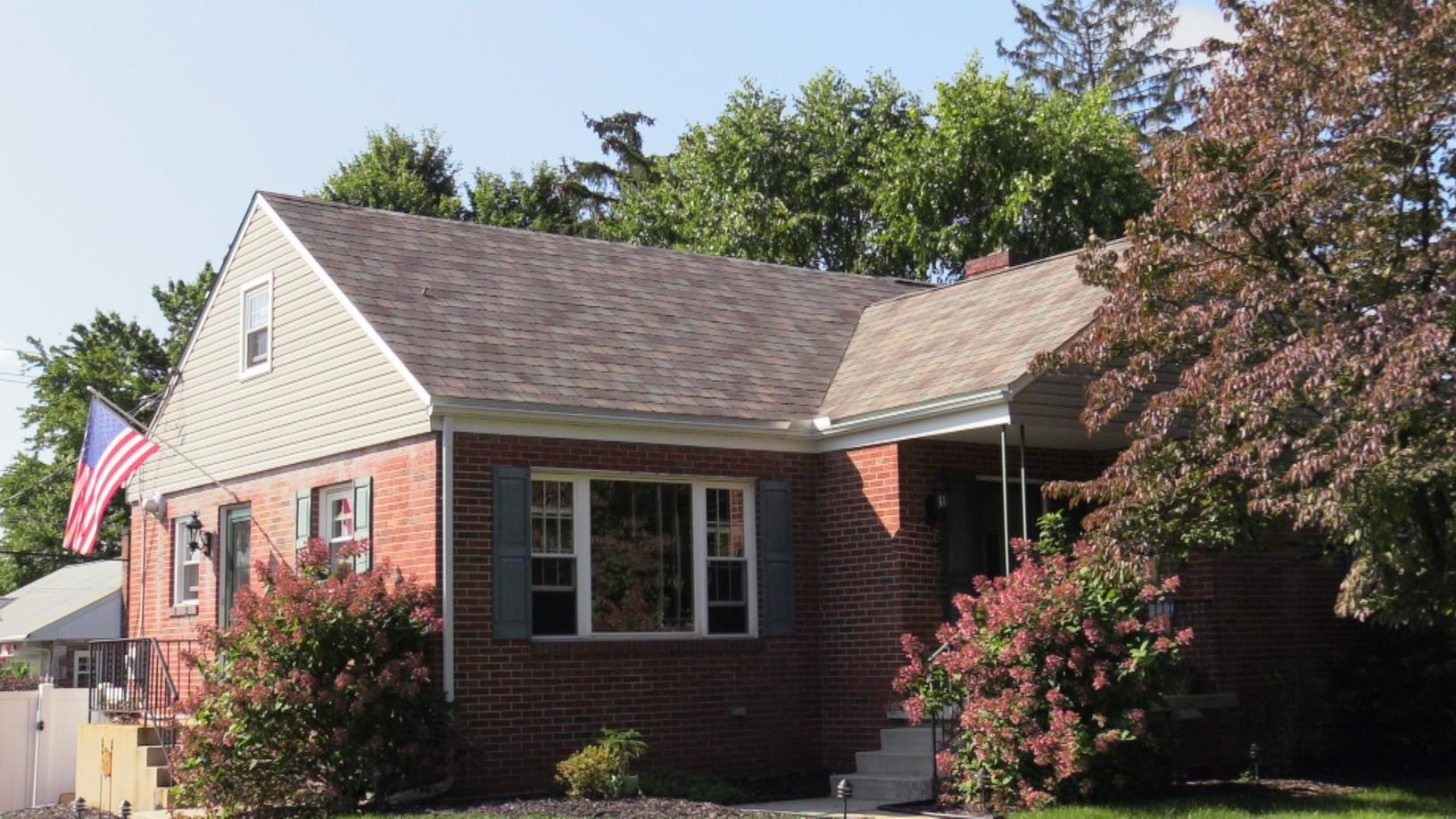 A Longer Shot Of The Front Of This West Allentown Shingle Installation