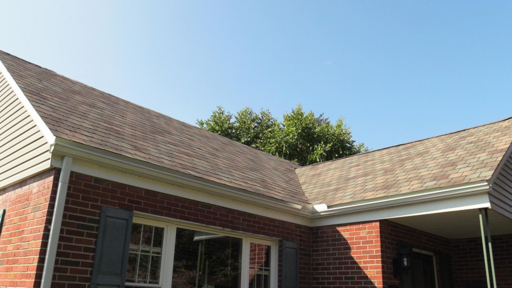 A Little Closer Up On The Front Of This West End Allentown Shingle Roof Project