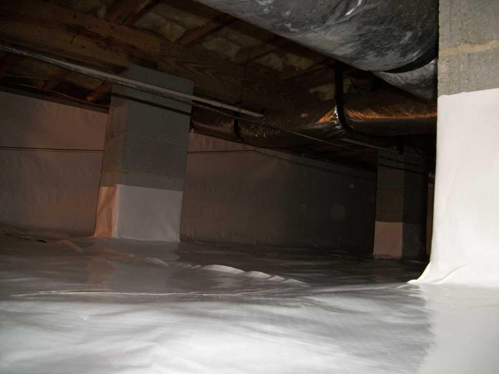 Wider View of Encapsulated Crawlspace