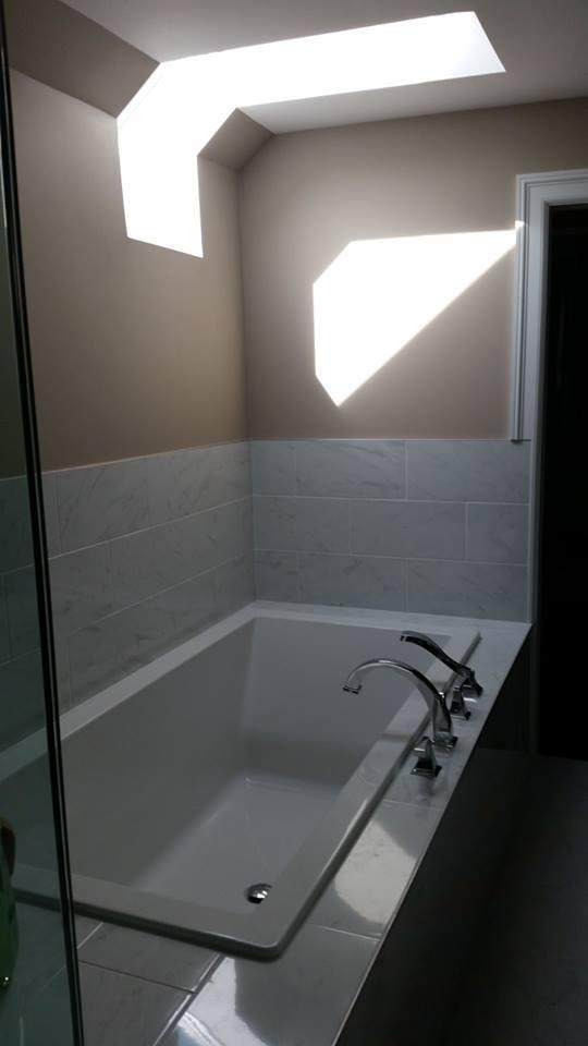 Tile Bathtub Installation