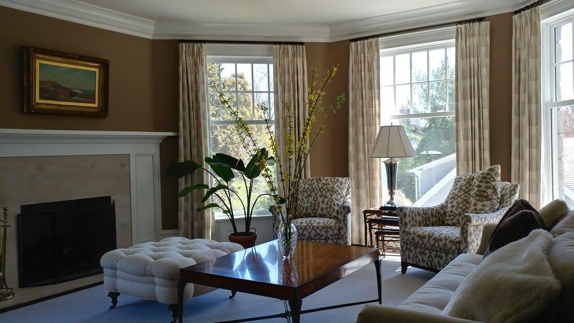 Living Room Remodeling | Interior Remodeling Job