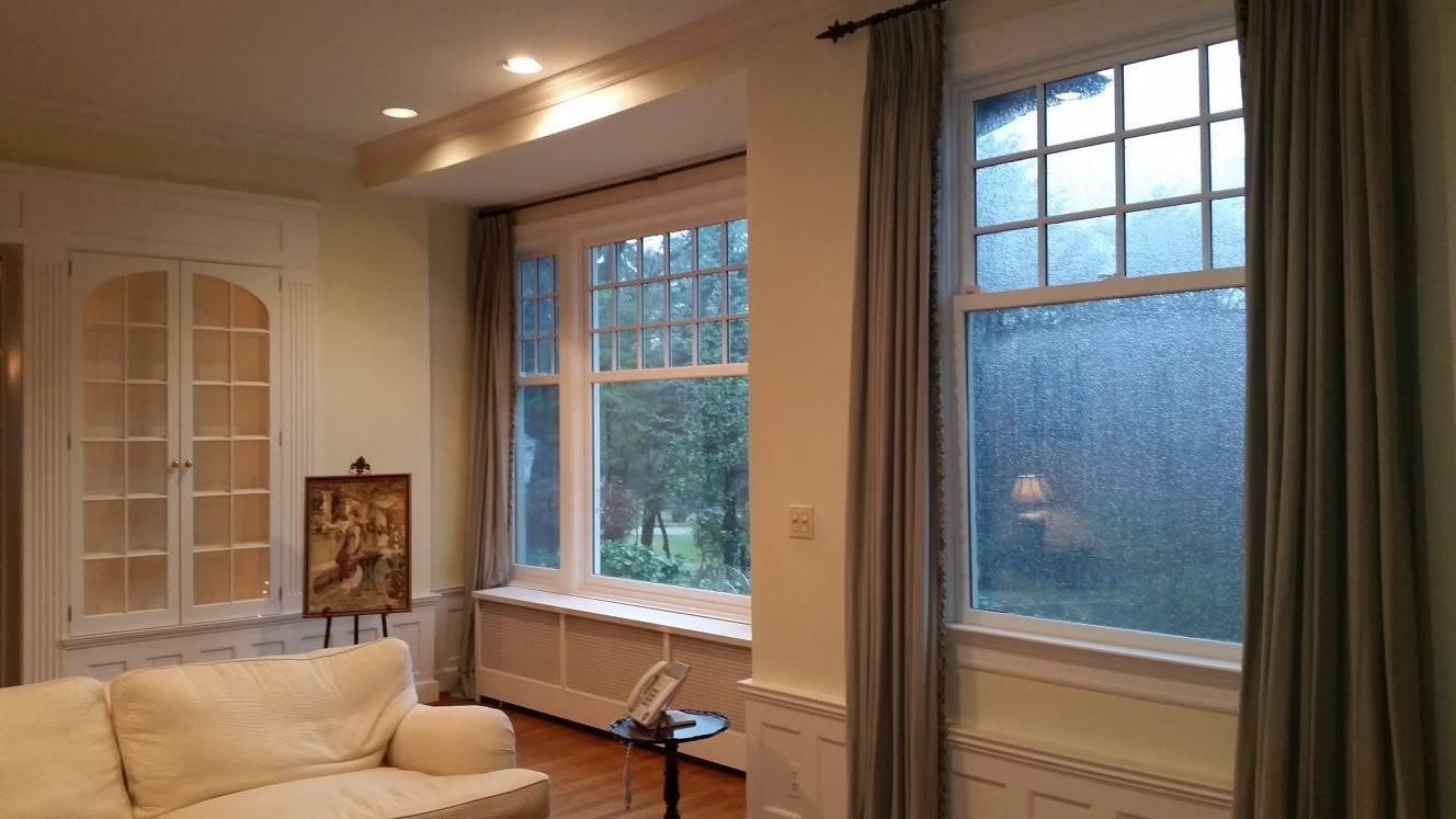 Living Room Remodel with Windows