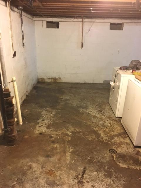 Basement Waterproofing Whole Basement Waterproofing Wet And