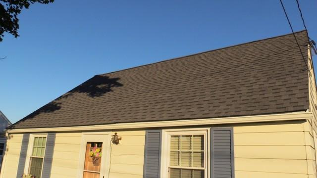 A Boyertown Roof Repaired By The Pinnacle Exteriors Crew
