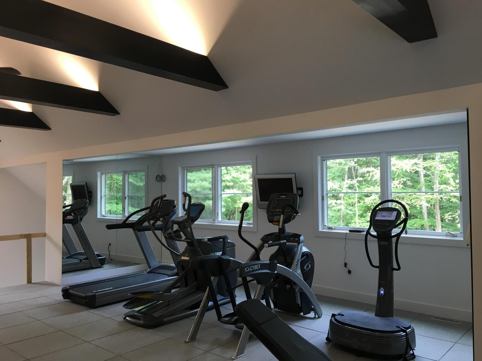 Upgrades Added to Home Gym in Roxbury