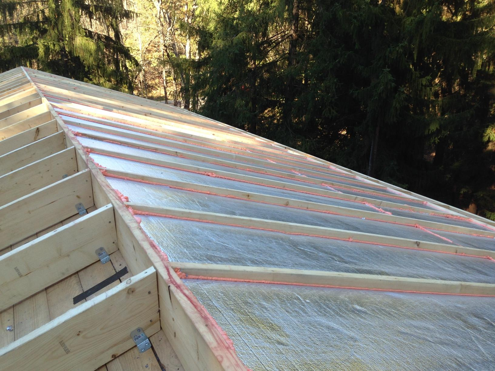 Insulation Services - Insulating A Home With Cathedral ...