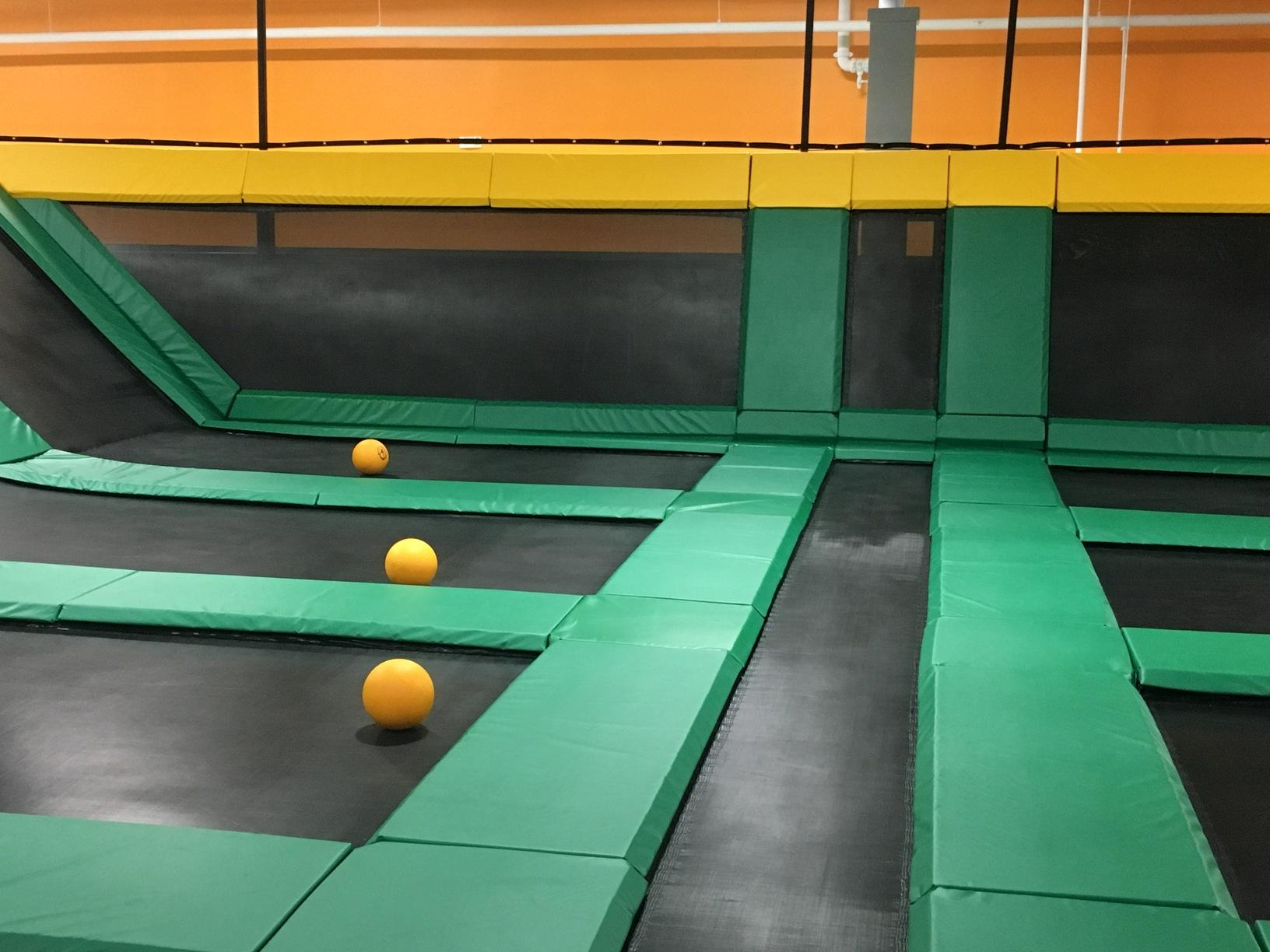 Dodge Ball Court Installation in East Haven, CT.