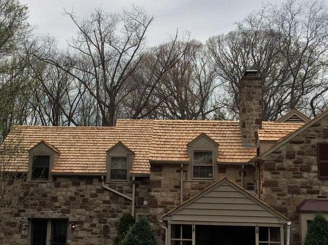 Back Roof of Home