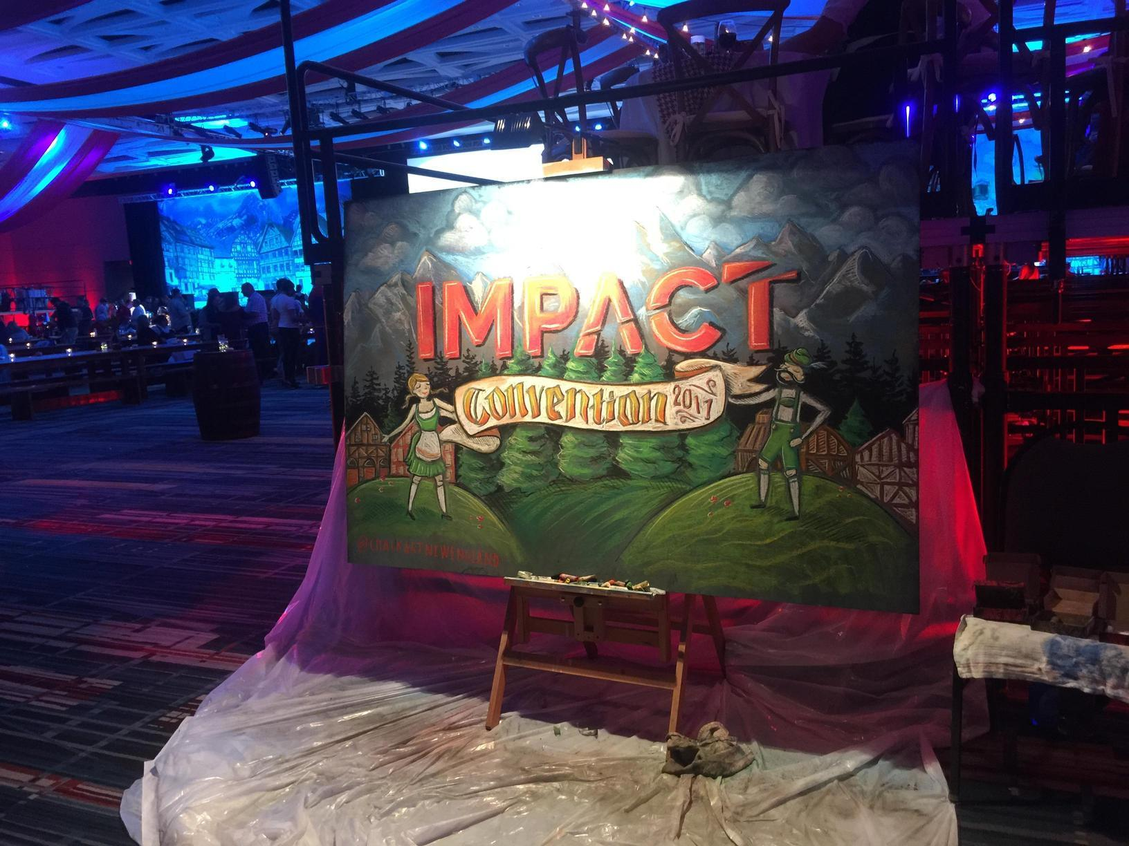 Impact Convention 2017 winded down with an Oktoberfest themed party