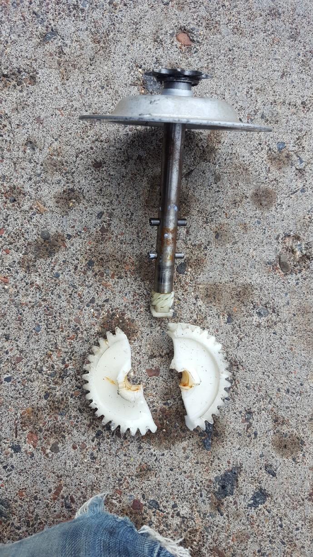 Broken Operator Gear