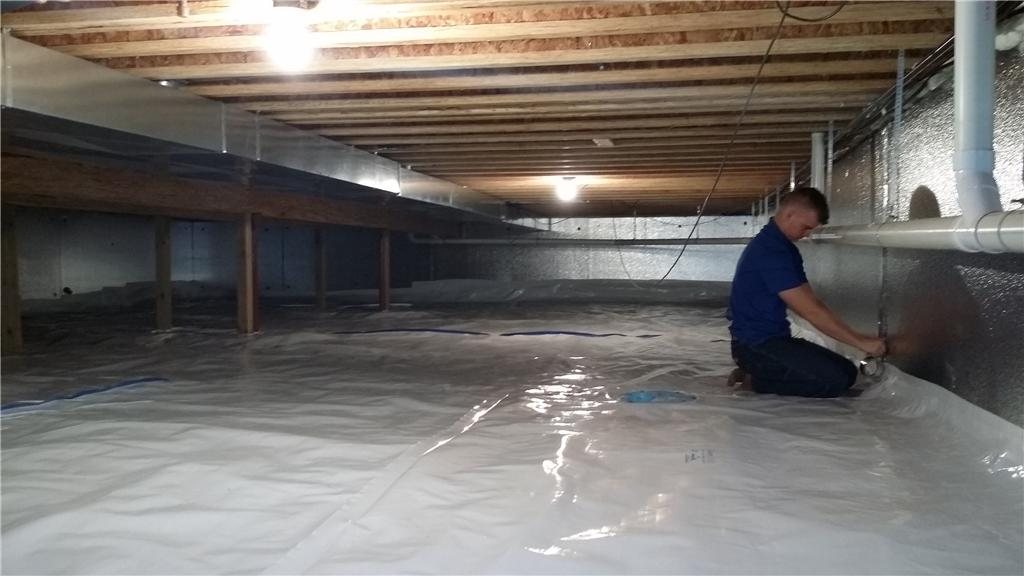 Finishing the New and Improved Crawl Space