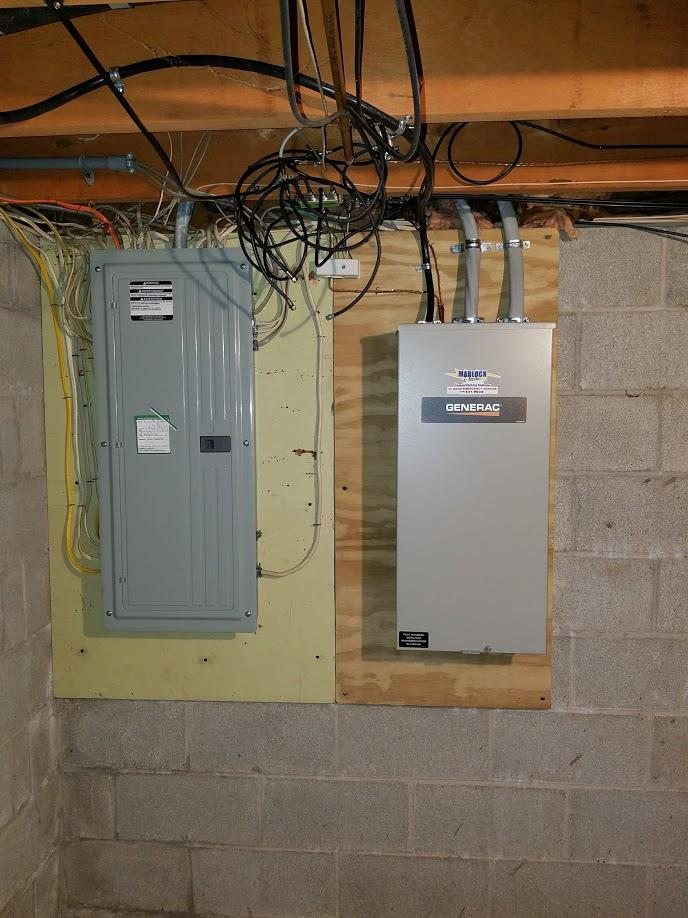Generator Installation - Rochester, NY 11kw Generac Generator Installation  - 200amp transfer switch in Rochester, NY