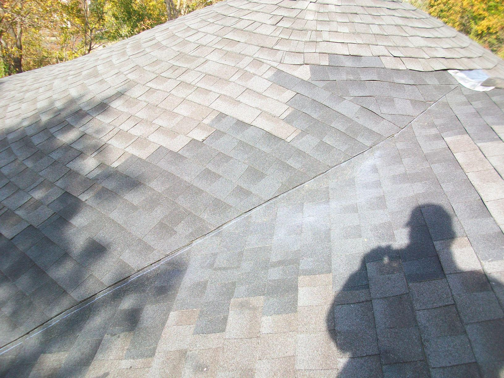 Completed Shingle Roof Repair
