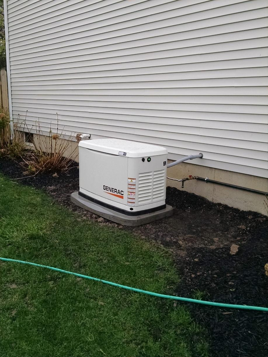 Generator Installed in Webster, NY After Power Outage