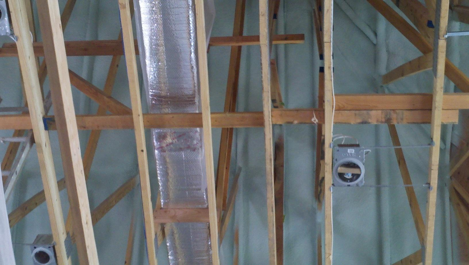 Make your attic become inside space with spray foam insulation