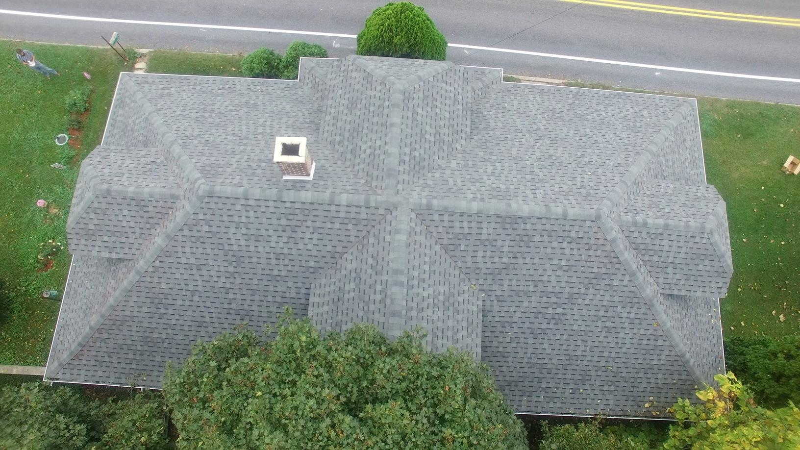 The New Roof Installed in Walnutport
