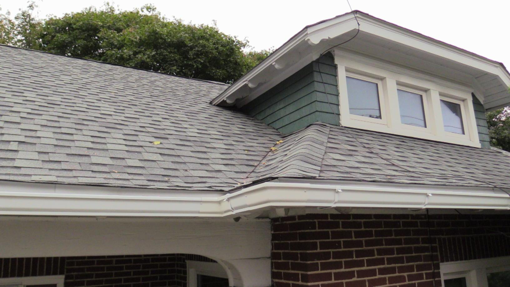 Check out the New Gutters and Roof Installed