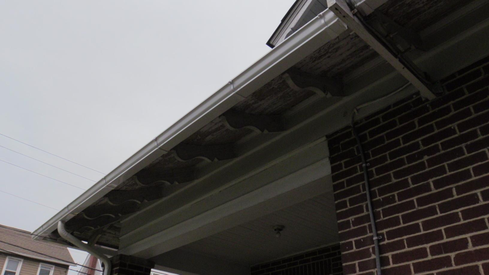 New Gutters Along With A New Roof, One Convenient Price