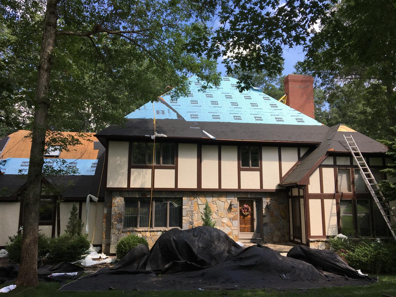 Roof Replacement Glastonbury Connecticut Hickory